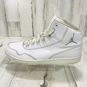 Nike Air Jordan Leather High Tops Basketball Shoes
